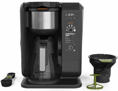 coffee maker with internal hot water tank ninja