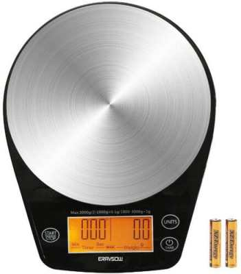 eravsow digital coffee scale