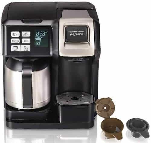 Stainless steel coffee maker carafe Hamilton Beach FlexBrew 49966