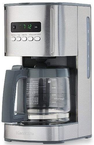 Kenmore 40706 12-Cup Programmable Aroma Control Coffee Maker in Stainless Steel