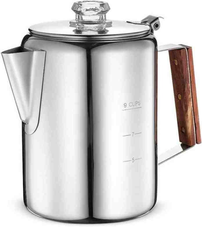 Eurolux Percolator Coffee Maker Pot - 9 Cups