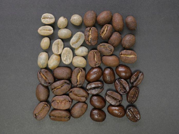 coffee beans roast level