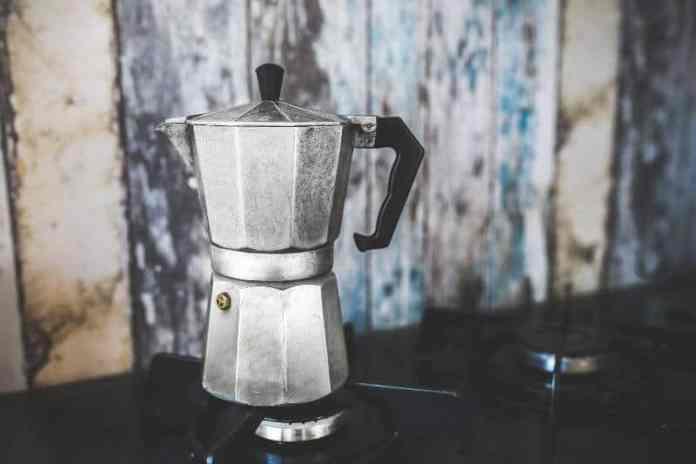 brew coffee with a percolator