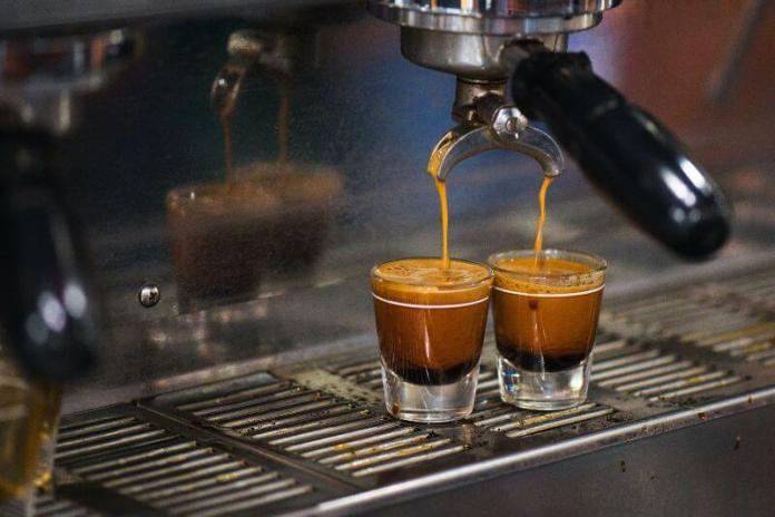 espresso cups of coffee