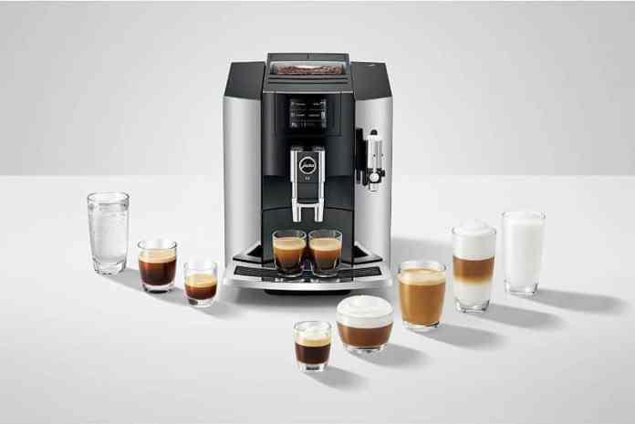 jura e8 espresso maker coffee types