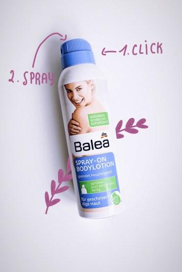 balea spray cream