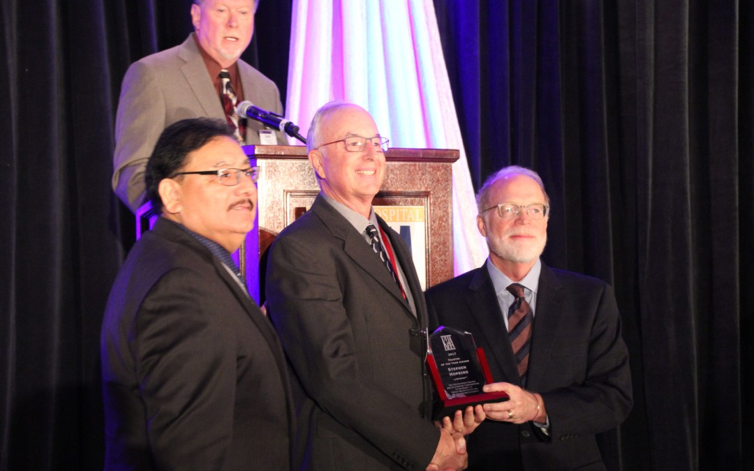 Kansas Hospital Association Honors Steve Hopkins