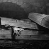 """Antoine Wiertz's """"L'Inhumation précipitée"""" (""""Premature Burial""""), 1854"""