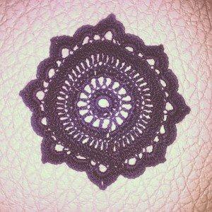 Motif rosace pour dessous de verre dans Crochet capture9-300x300
