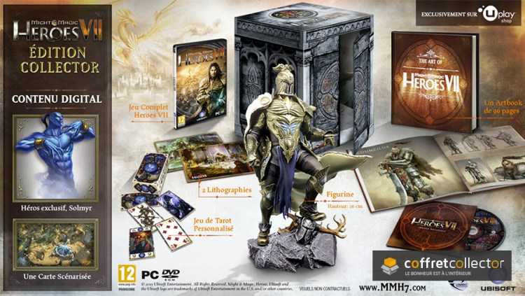 L'édition collector Might & Magic Heroes VII