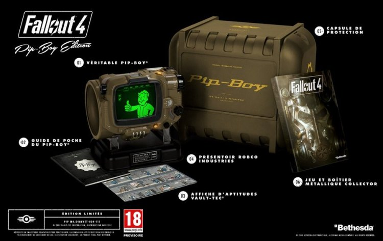 Fallout 4 - Edition collector Pip-Boy