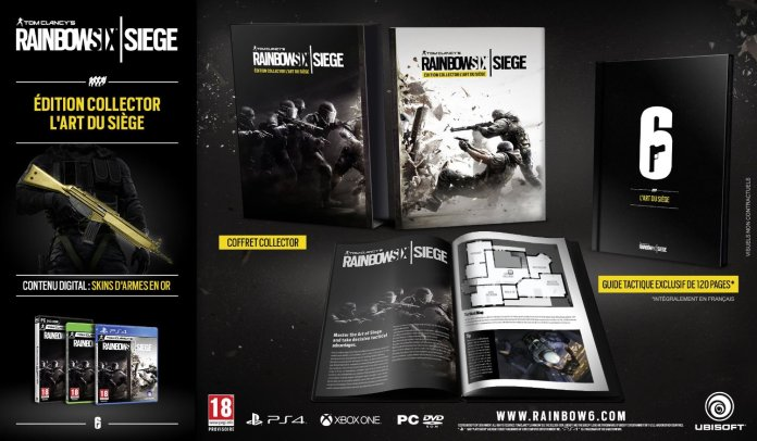 Rainbow Six : Siege - l'édition collector l'art du siège