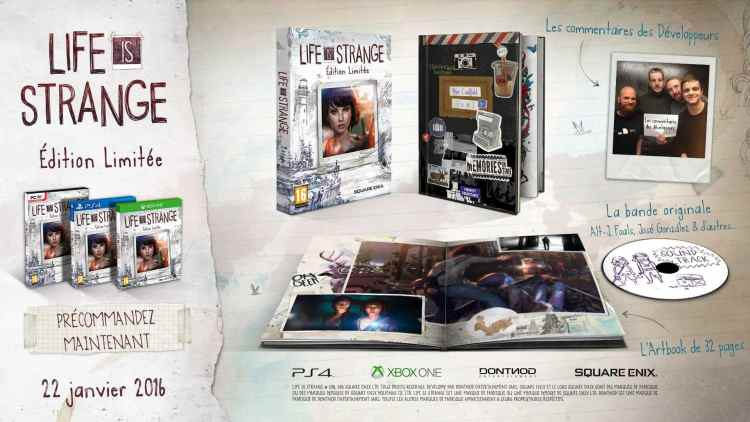 Life Is Strange en édition collector