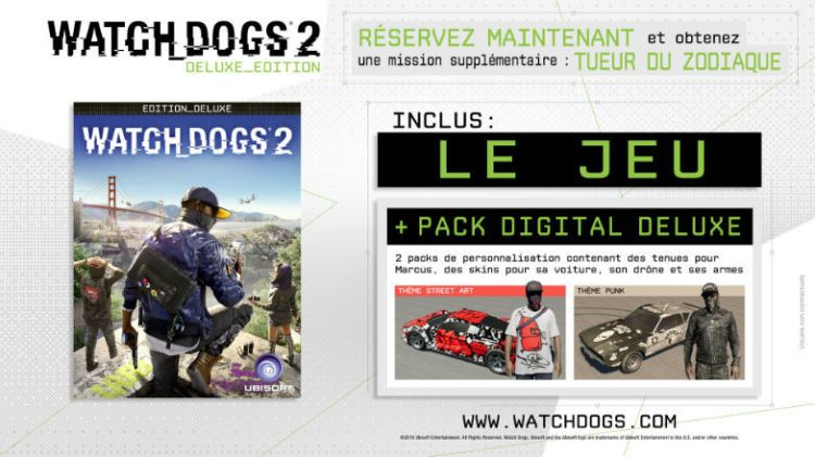 Watch Dogs 2 - Edition Deluxe