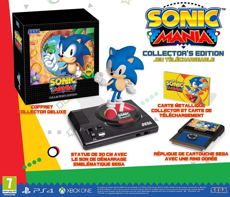 Sonic Mania - Edition collector