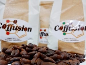 coffusion roasted beans showing its quality