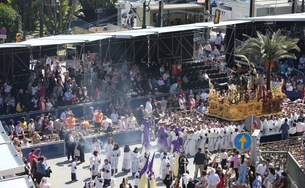 La Agrupación de Cofradías de Málaga reservará para el año próximo el dinero que los abonados dejaron para esta Semana Santa