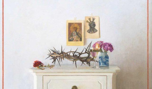 Un altar doméstico como Cartel de la Semana Santa de Sevilla 2021