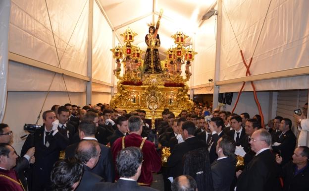 La pandemia no impedirá la bendición de El Pobre de Vélez este próximo Jueves Santo