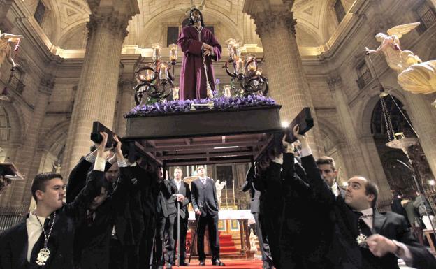Habrá via crucis el Miércoles de Ceniza en Jaén, pero estático y dentro de la catedral
