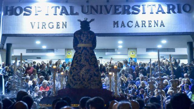 La Trinidad y la Macarena celebrarán Vía Crucis aforados en sus templos