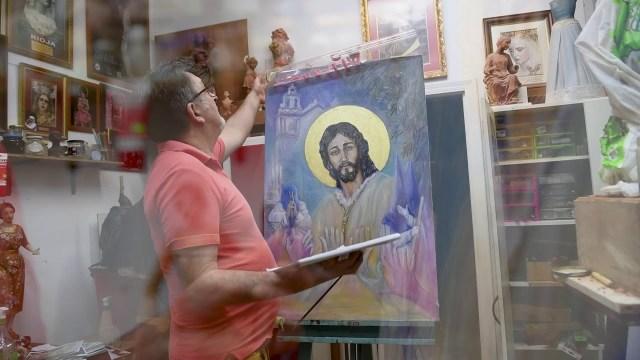 Vídeo de Luis González Rey sobre el cartel de la Semana Santa de Cádiz