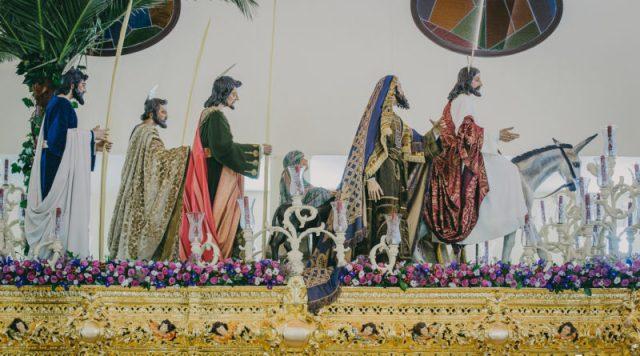 La Borriquita de Alcalá de Guadaira montará el misterio en el altar para el Domingo de Ramos