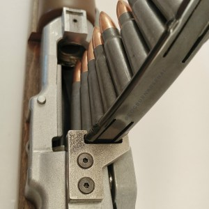 Mini-30 stripper clip guid, top mounted for new rifles