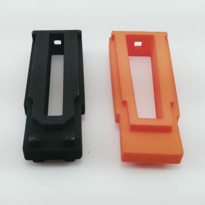 Black mini-14 5 round mag coupler, orange mini-30 5 round mag coupler
