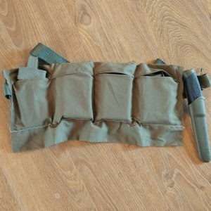 Modern US Military 4 pocket bandoleer for 5.56x45mm ammo