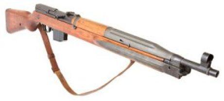 Czech VZ-52 cold war era semi auto rifle in 7.62x45mm