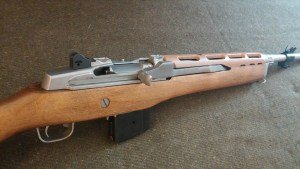 Mini Thirty, tan choate handguard