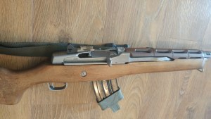 Mini Thirty, brown choate handguard