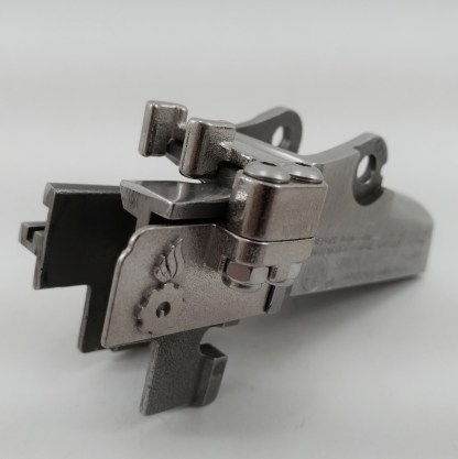 Stainless stripper clip guide for early pre-ranch Ruger mini-14