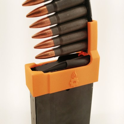 Ruger Mini-30 Magazine speed loader with SKS stripper clip