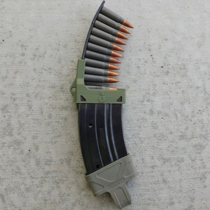 Mini-Thirty magazine loader OD green