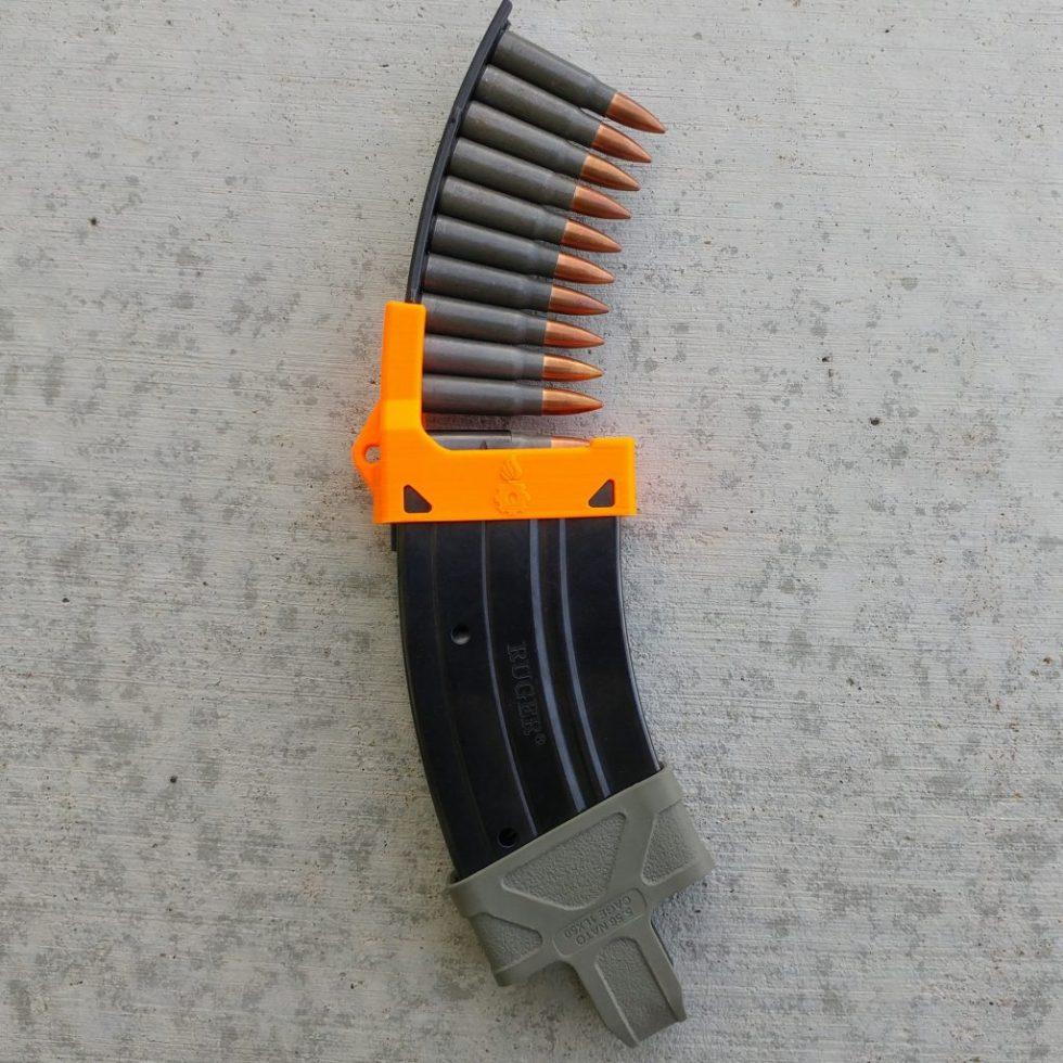 Mini-thirty mag loader orange