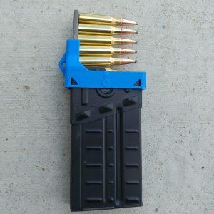 blue CETME G3 magazine clip loader
