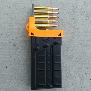 orange CETME G3 magazine clip loader
