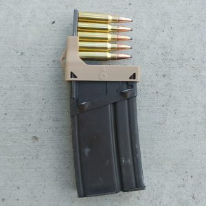 dessert tan CETME G3 magazine clip loader