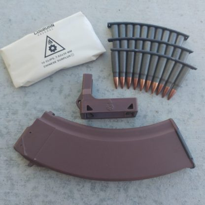 Brown AK magazine loader