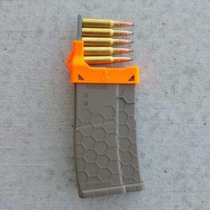 AR10 stripper clip mag loader