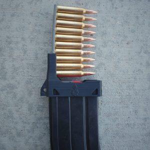 Black Stripper clip AR loading tool