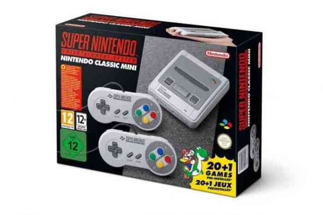 SNES Mini SNES Classic UK