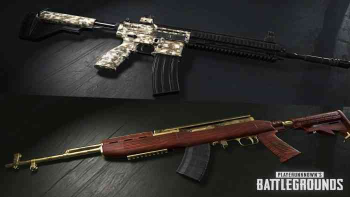 New PUBG Patch Is Live With Free Weapon Skin COGconnected