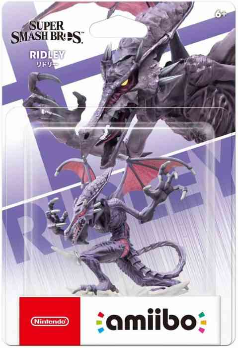 Ridley Inkling And Wolf Amiibo Release Date Announced