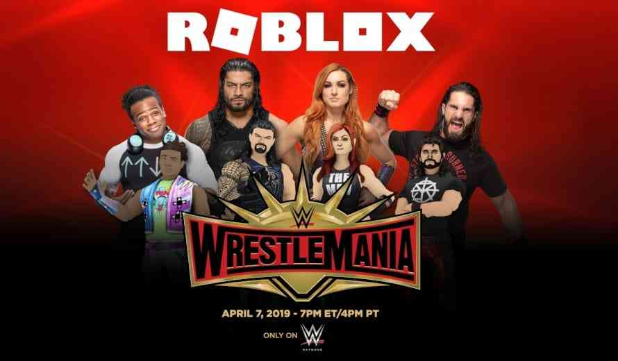 Roblox And WWE Partner For Some Wrestlemania COGconnected