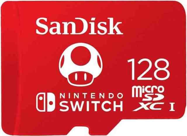 Sandisk 128 gig memory card
