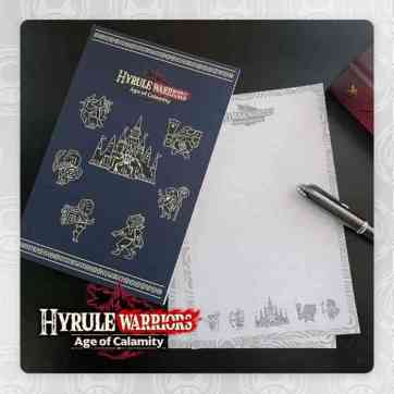 Hyrule Warriors Memo Pad