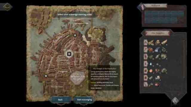 Siege Survivor Gloria Victis map